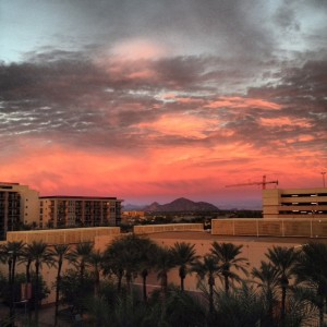 Looking East, Camelback